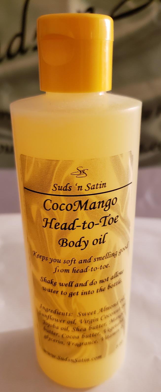 CocoMango Head-to-Toe body oil