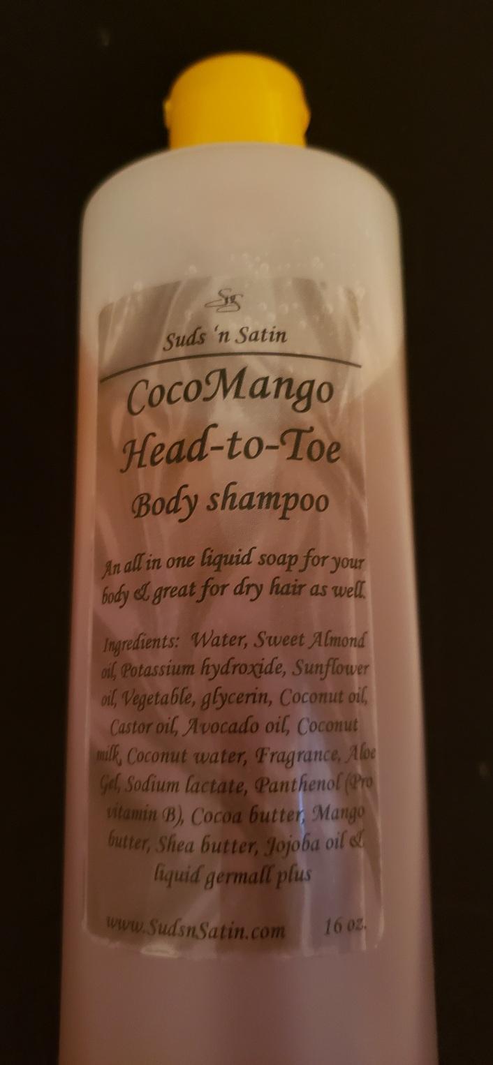 CocoMango Head-to-Toe Body Shampoo