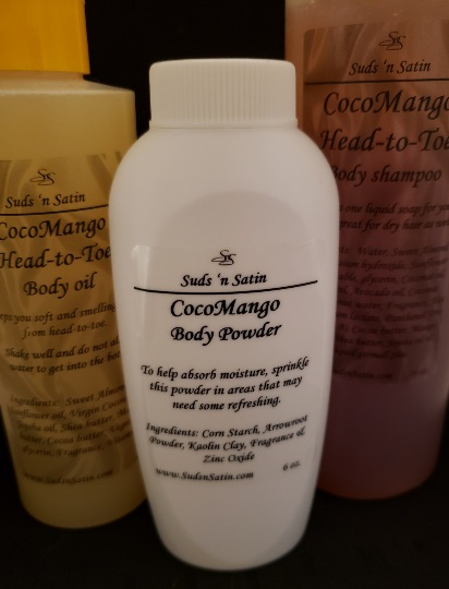 CocoMango Head-to-Toe Set